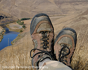 Boots over John Day