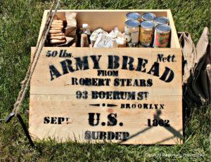 hardtack, Civil War food, pilot bread