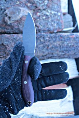 L.T. Wright large hunter, skinning knife, best deer hunting knife