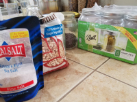 organize your pantry with bulk foods