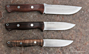 Bravo family: From top: 1.25 LT, modified Gunny/Bravo LT and Gunny. I'm partial to wood handles.