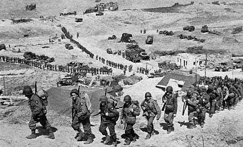 D Day, D Day plus 1, World War II