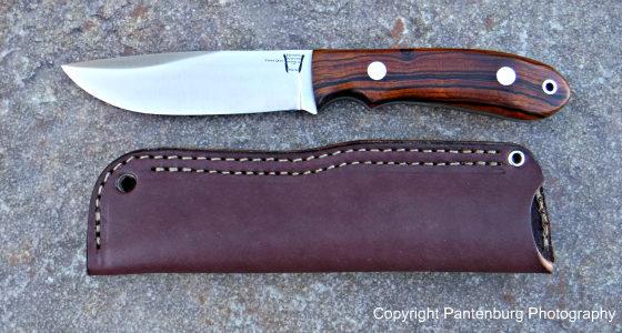 Hyken Lite Hunter, Bark River knives