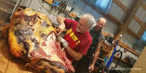 breaking beef, field test knives, best hunting knife