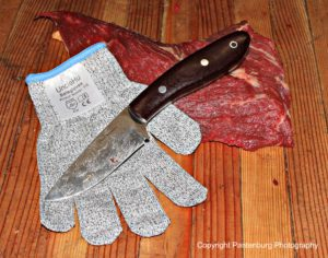 cut resistant glove, meat cutting, deer hunting