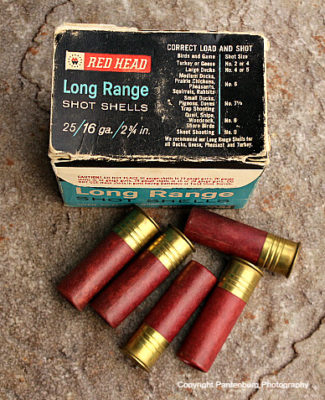 Montgomery Wards shotgun shells, antique shotgun shells