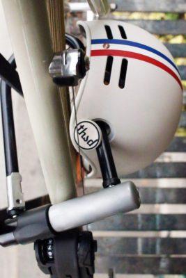 bike helmet, bike helmet lock
