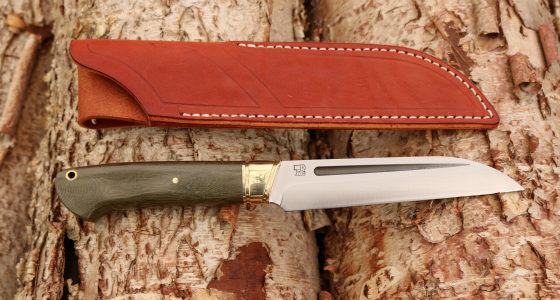 Bark River Knives, Bark River Hauk, Scandi knives
