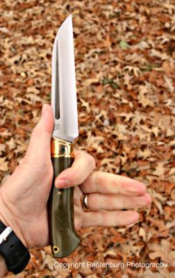 Bark River Knives, Bark River Hauk, traditional design knives
