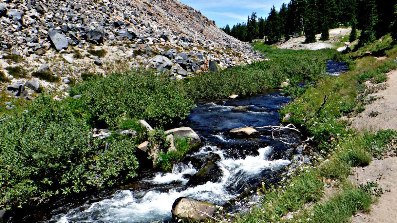 Green Lakes, Oregon mountains, purify water