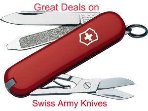 swiss army knives ad