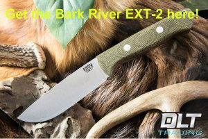 bark river ext-2, best deer hunting knife