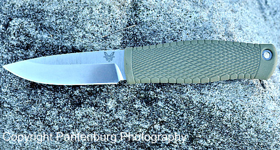 Benchmade Puukko knife, scandi knives