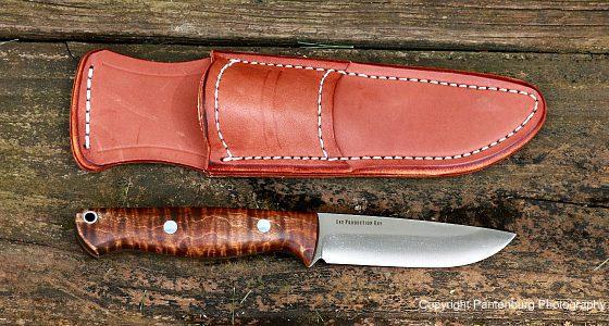 bark river knives, Gunny Hunter LT, Elmax
