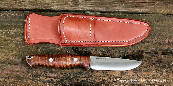 bark river knives, Gunny Hunter LT, Elmax