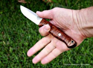 gunny hunter LT, bark river knives, elmax