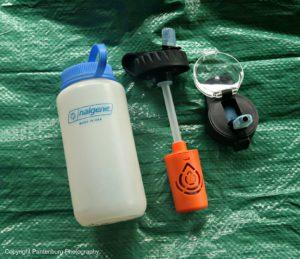 nalgene water filter, best water filter, backpacking water filter