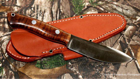 Aurora Hunter, bark river knives