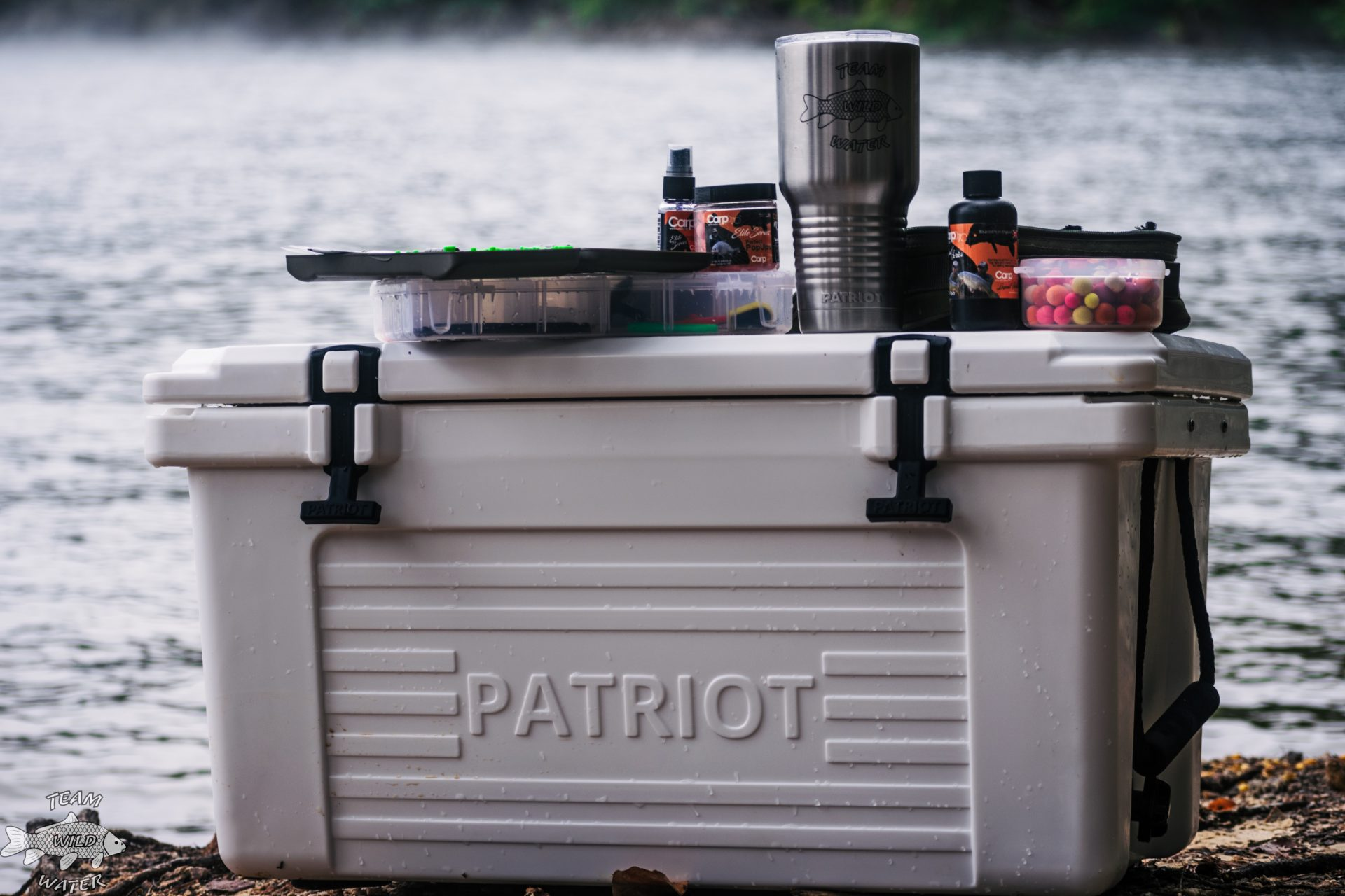 Patriot cooler and tumbler
