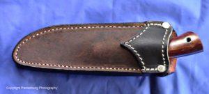 Lon Humphrey knives, sheath, tarpon