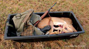sled, deer hunting
