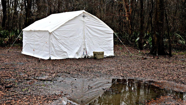 elk mountain tent, wall tents